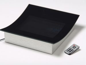 Digital cash tray with LCD display