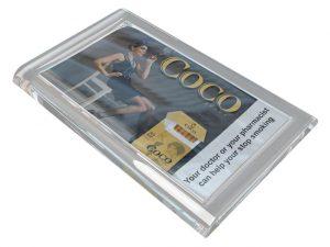 """Zahlteller aus Glas """"Counter 2"""", rechteckig"""