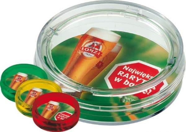 "Zahlteller aus Glas-Plastik ""Rondo Expo Flaut"""