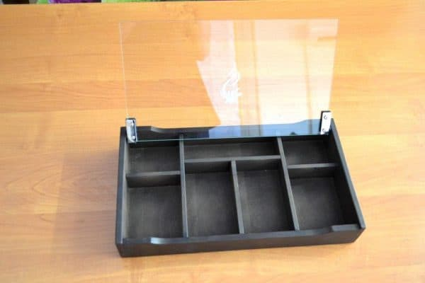 "Zahlteller aus Holz ""Box 2"""