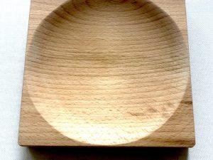 """Zahlteller aus Holz """"Wood 3"""", gerundet"""
