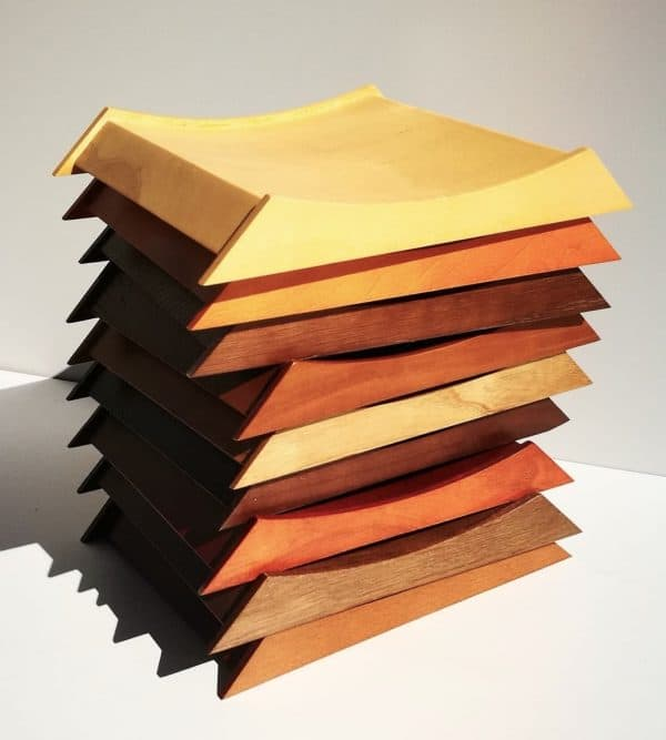"Zahlteller aus Holz ""Wood Deluxe"""